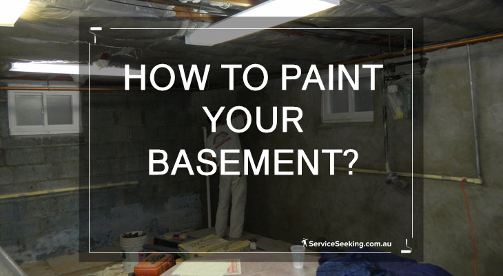 How to paint your basement?