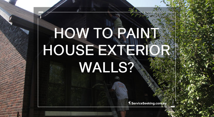 How to paint house exterior walls