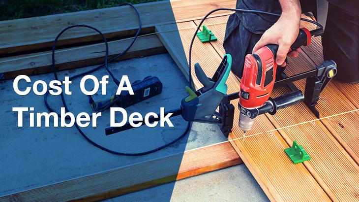 timber deck banner