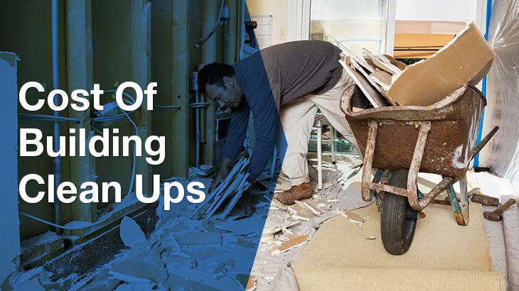 building clean ups banner