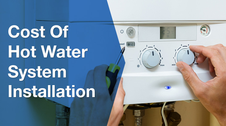 hot water system banner