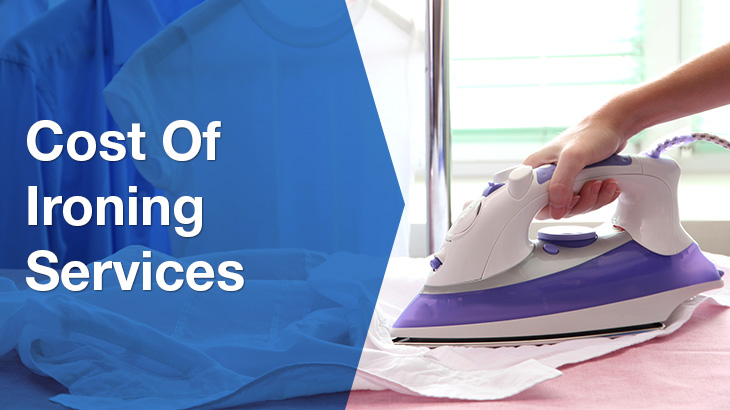 ironing services banner