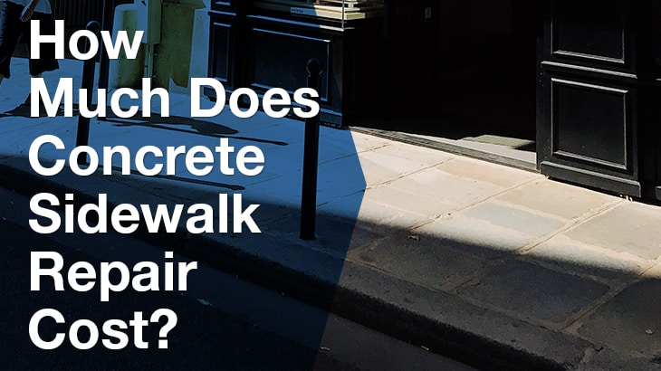 How Much Does Concrete Sidewalk Repair Cost   Service Seeking
