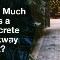 Concrete Walk-way