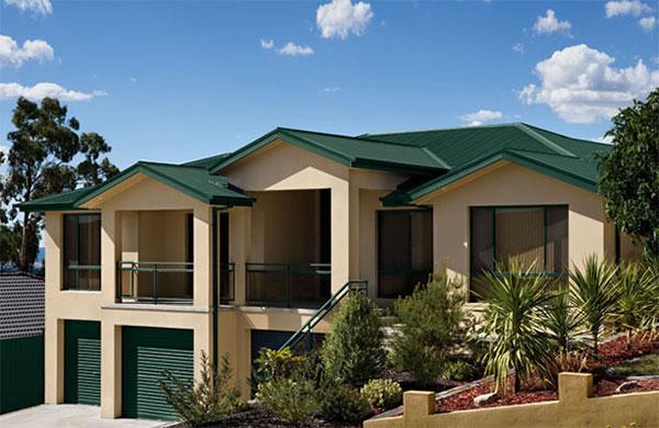 Colorbond cottage green colour