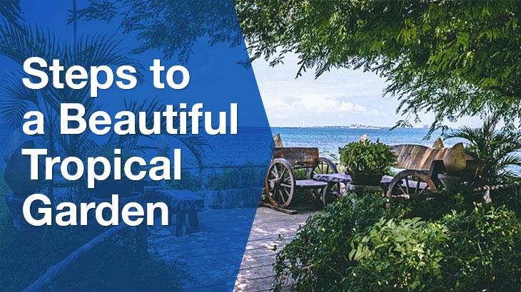 Tropical Garden banner