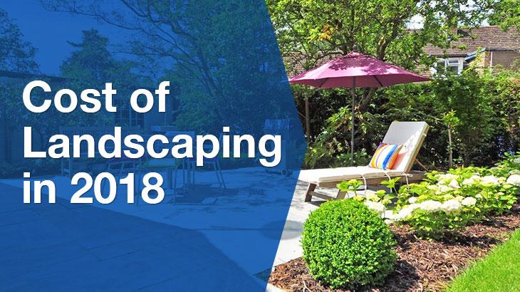 Landscaping banner
