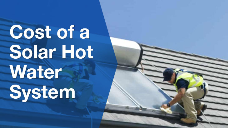 solar hot water banner