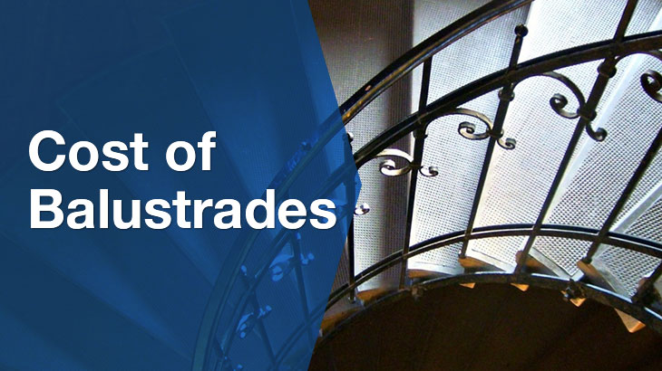 cost of balustrades banner