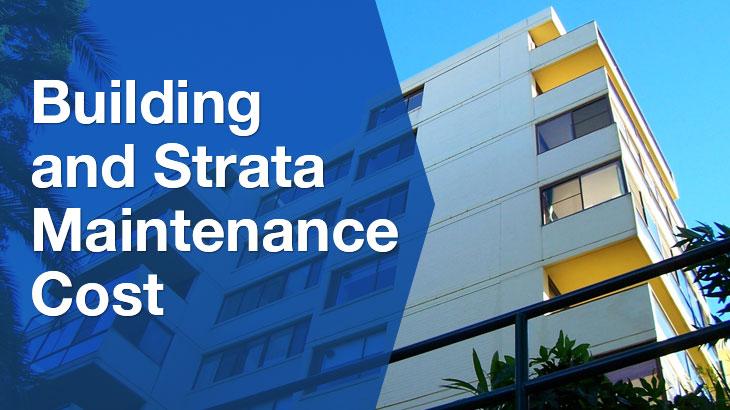 strata maintenance banner