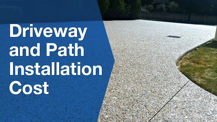 driveway and path banner