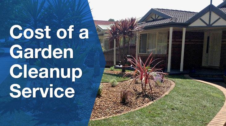 garden cleanup banner