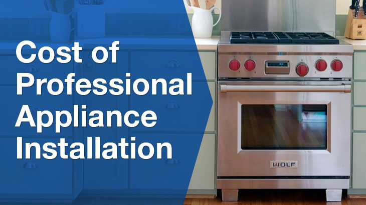 professional appliance installation banner