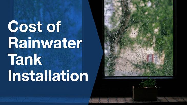 rainwater tank installation banner