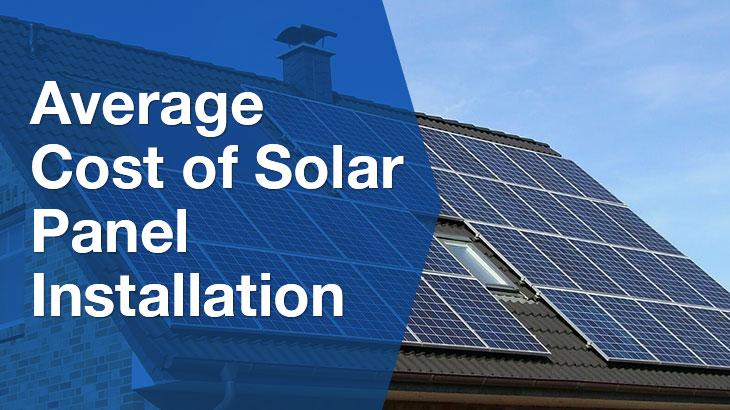 solar panel installation banner