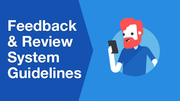 feedback and review banner