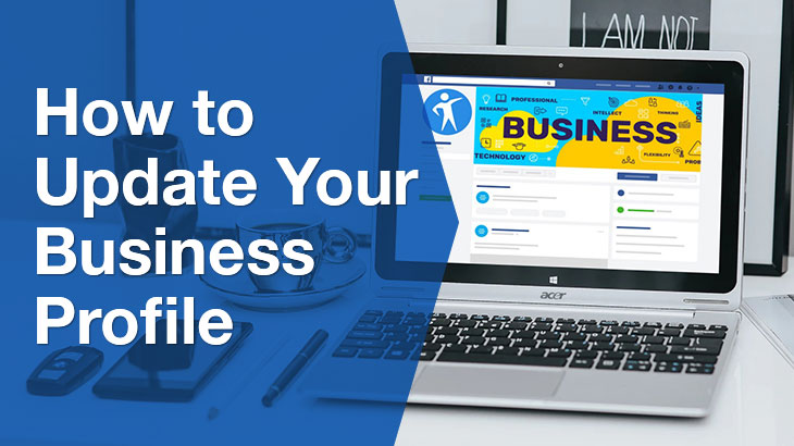 business profile banner
