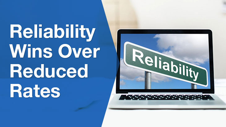 Reliability banner