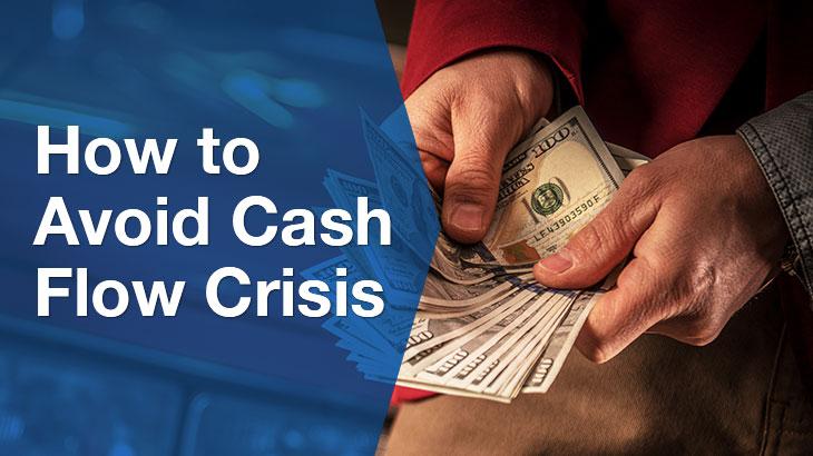 cash flow crisis banner