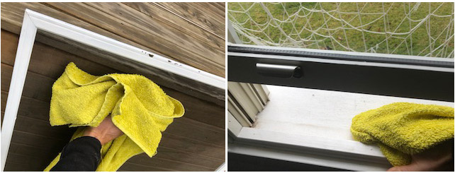 cleaning fly screens