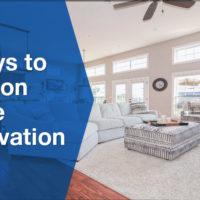 Home Renovation Banner