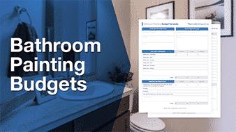 bathroom painting budgets