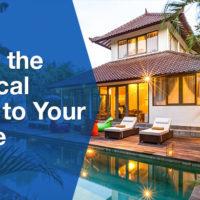 Bali tropical home Banner