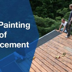 roof painting and replacement banner