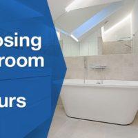 white clean bathroom