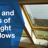 modern skylight window