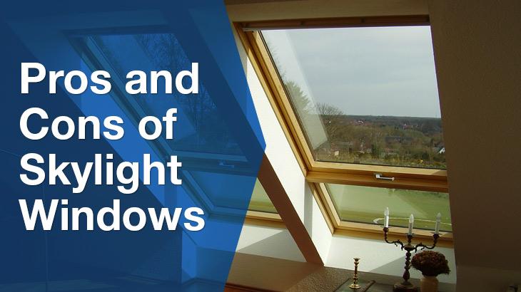modern skylight window