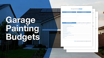 Garage painting budget template free download.