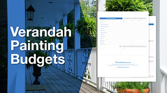 Vendarah painting budget template free download